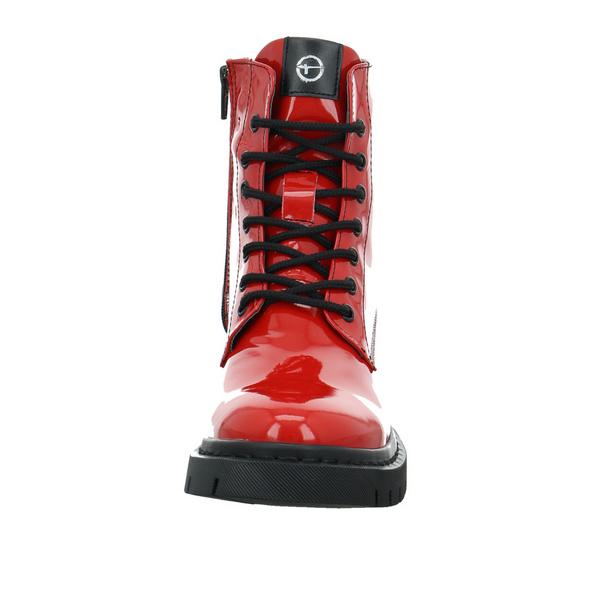 Tamaris Damen 25833-519 Roter Lack Boot