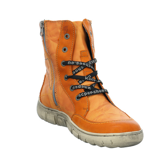 Kacper Damen 4-0542B0 Oranger Glattleder Boot