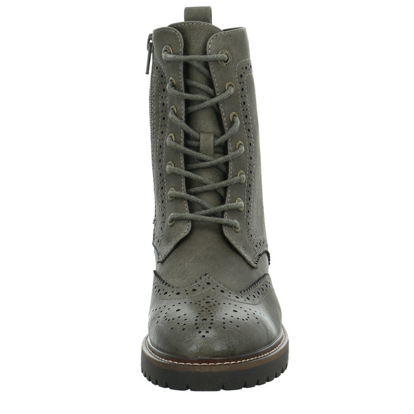 S.Oliver Damen 25254-701 Grüner Synthetik Boot