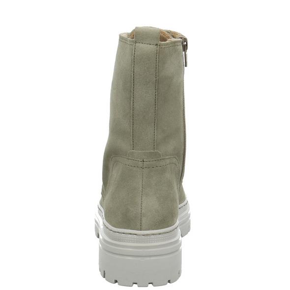 Gabor Damen 71-721-11 grüner Velourleder Boot
