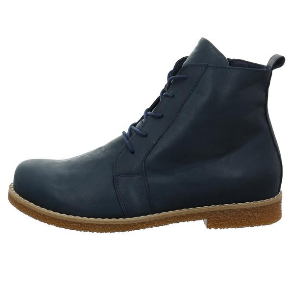 Andrea Conti Damen 0344523-017 Blauer Glattleder Boot
