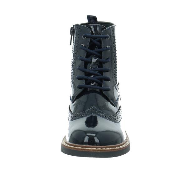 S.Oliver Damen 25465-838 Blauer Lack Boot