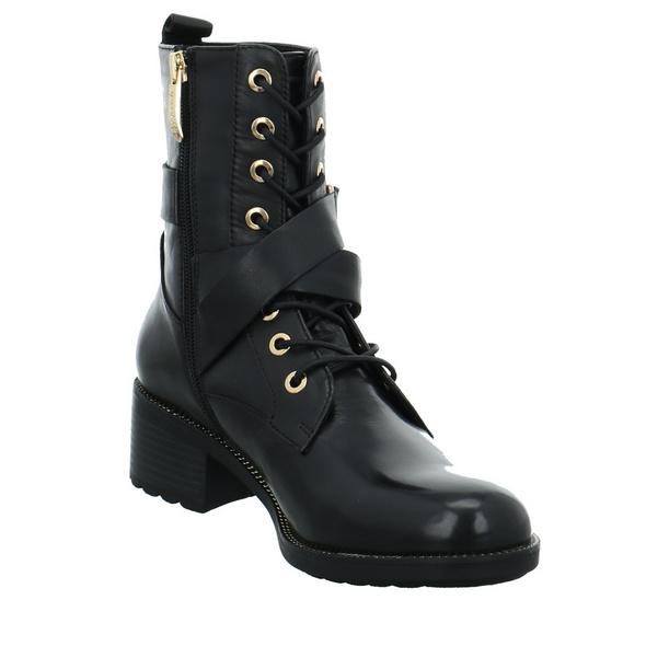 Regarde le Ciel Damen Emily-F21-15 schwarzer Glattleder Boot