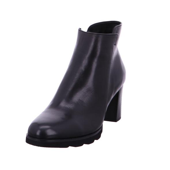 Regarde le Ciel Damen Patricia 01 Schwarze Glattleder Ankle Boot