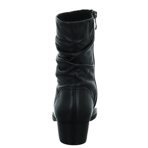 Caprice Damen 25301-022 Schwarze Glattleder Stiefelette