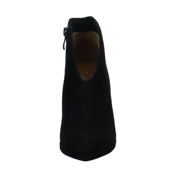 Caprice Damen 25305-004 Schwarzer Velourleder Ankle Boot