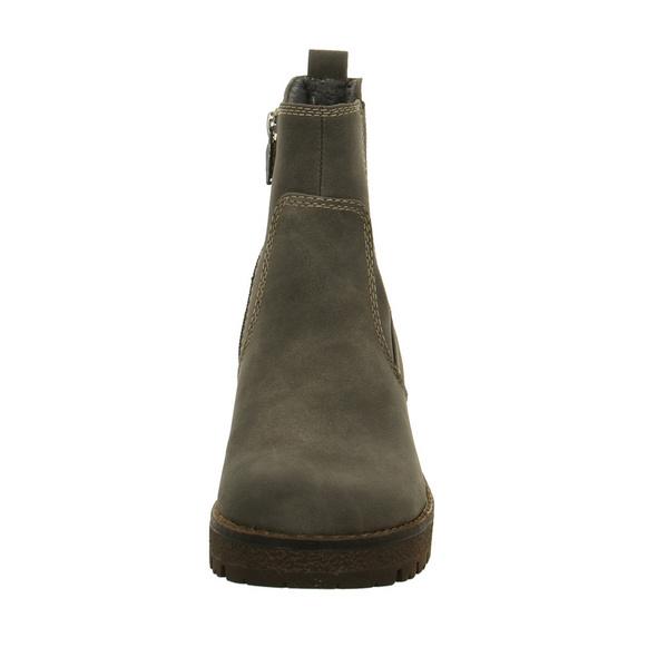 Tom Tailor Damen 7991605 Graue Synthetik Boots