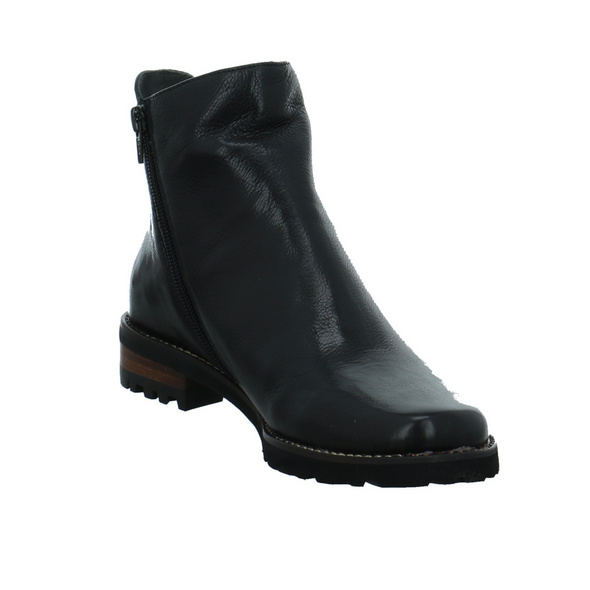 Everybody Damen 34896-2360 Schwarze Glattleder Winterboots