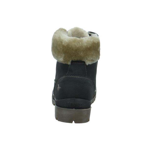 Mustang Damen 1207607-259 Grauer Synthetik/Textil Winterstiefel