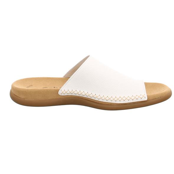 Gabor Damen 03-700-21 Weiße Glattleder Dianette