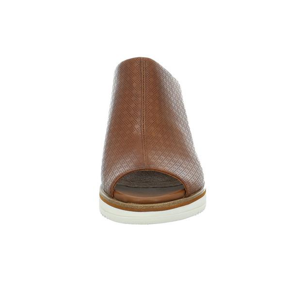 Tamaris Damen 27200-444 Braune Glattleder Pantolette