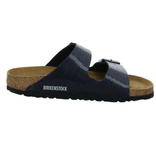 Birkenstock Damen Aizona BS blaue Lack Pantolette