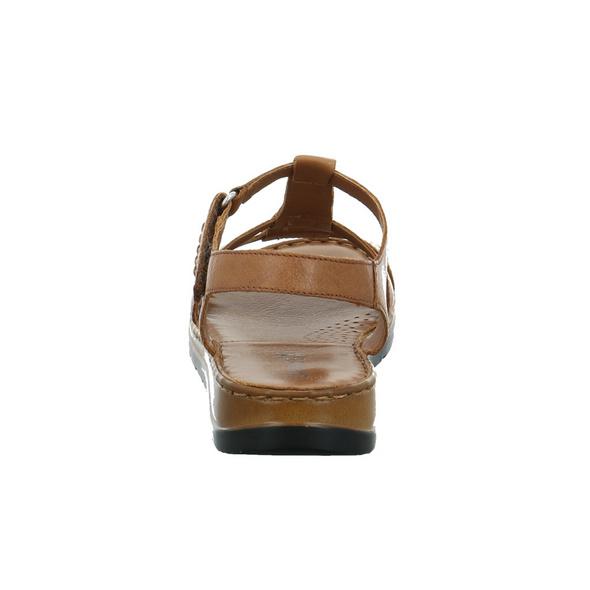 Caprice Damen 28151-350 Braune Glattleder Sandalette
