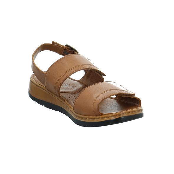 Caprice Damen 28153-350 Braune Glattleder Sandalette