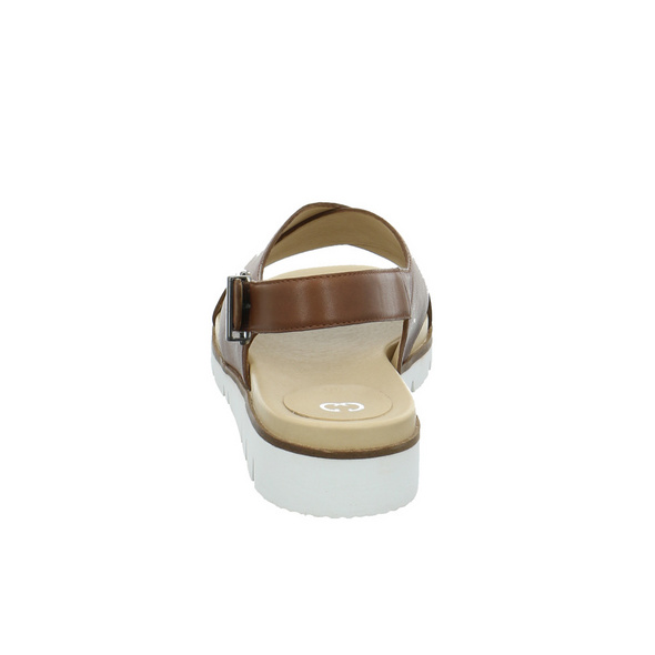 Gerry Weber Damen G13901-890-370 Braune Glattleder Sandale