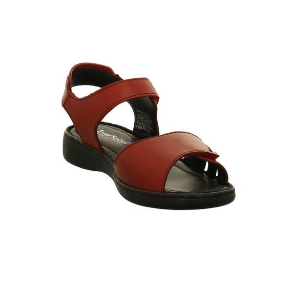 Josef Seibel Damen Lisa 01 Rote Glattleder Sandalette