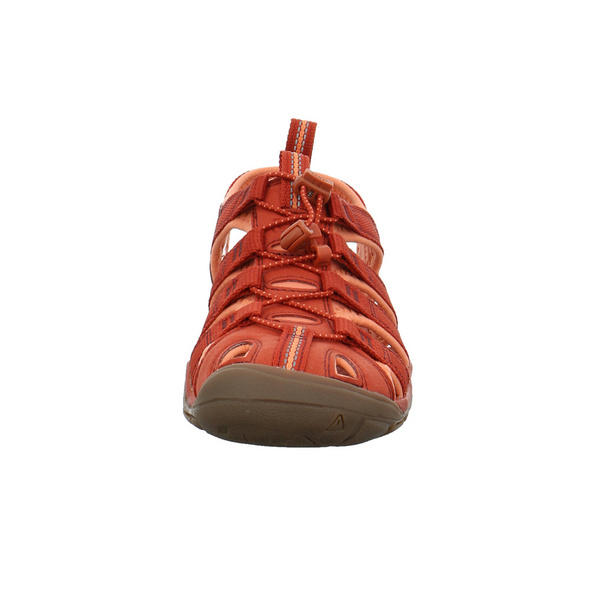 Keen Damen Clearwater CNX Rote Synthetik/Textil Sandale