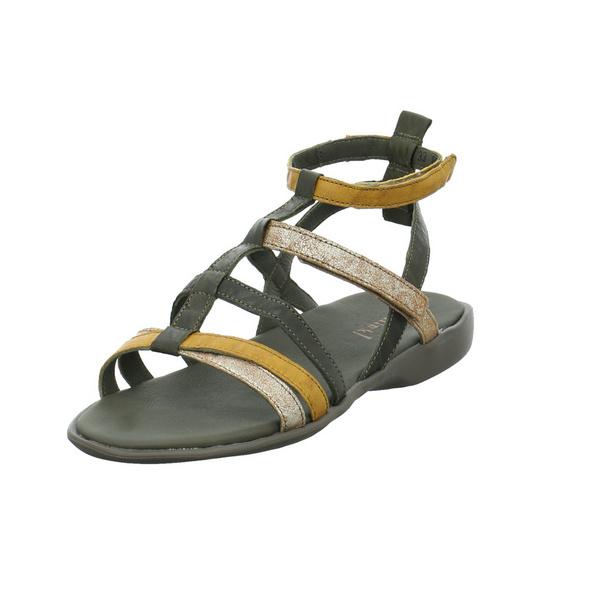 Think! Damen Griawi Multicolorfarbene Glattleder Sandalette