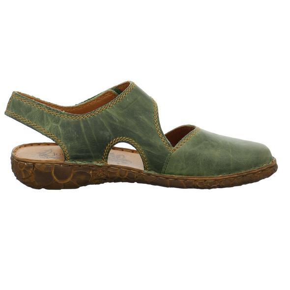Josef Seibel Damen Rosalie 27 Grüne Glattleder Sandale