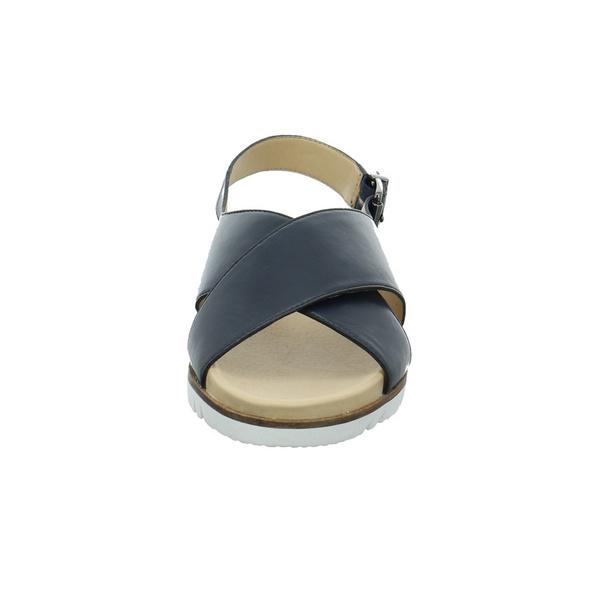 Gerry Weber Damen G13901-890-505 Blaue Glattleder Sandalette