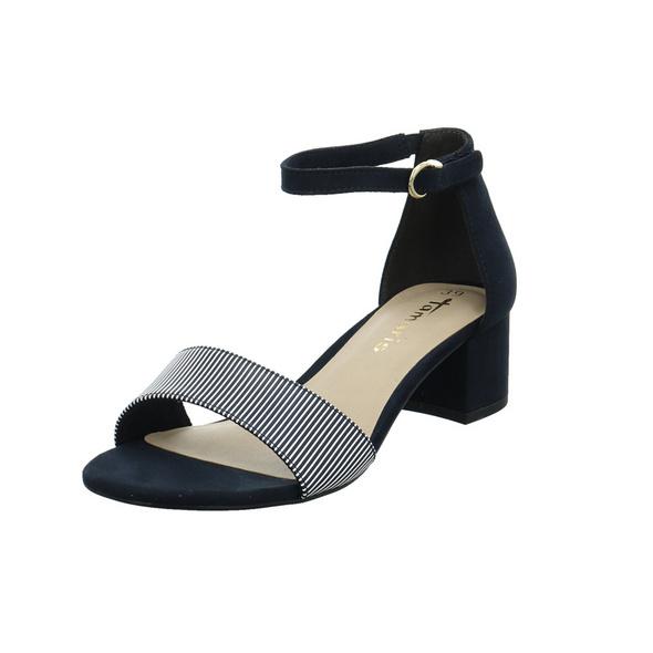 Tamaris Damen 28201-890 Blaue Synthetik/Textil Sandalette