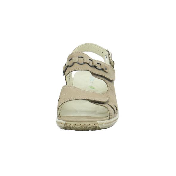 Waldläufer Damen Garda Beige Leder Sandale