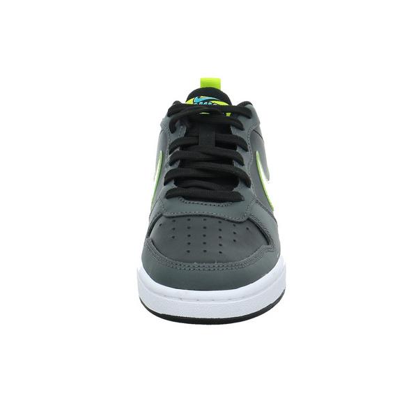 Nike Kinder Court Borough Low 2 KSA Schwarzer Leder-/Synthetik Sneaker