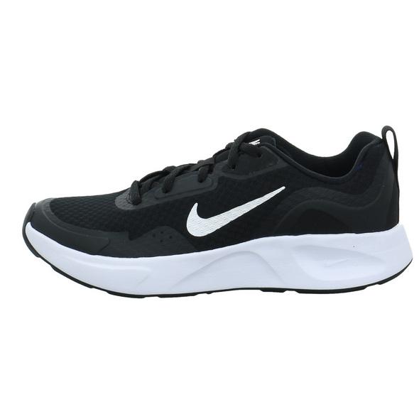 Nike Kinder Wearallday Schwarzer Synthetik Sneaker