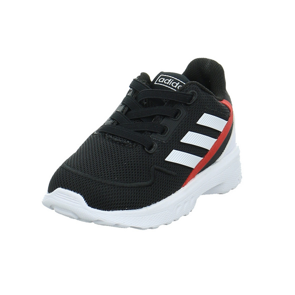 Adidas Kinder Nebzed Infant Schwarzer Textil Sneaker