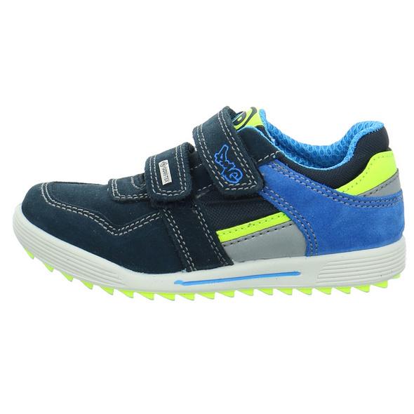 Primigi Kinder Biker GTX Blaue Nubukleder Sneaker