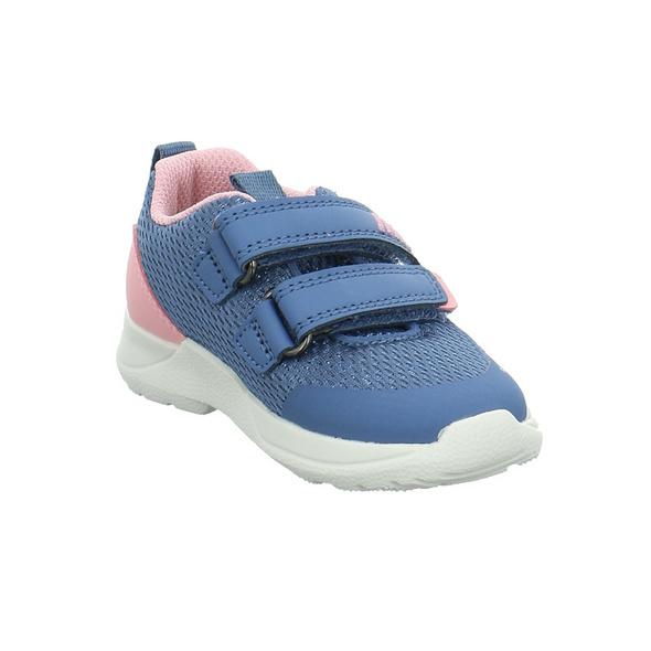 Superfit Kinder 09207-81 Blaue Mesh Halbschuhe