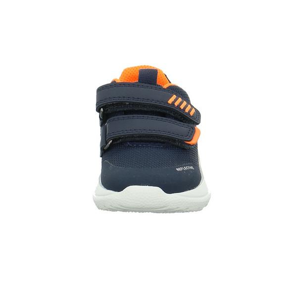 Superfit kinder 09207-80 Blau Orange Mesh Halbschuhe