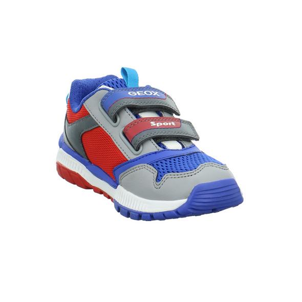 Geox Kinder J Tuono B Mehrfarbige Mesh Sneaker