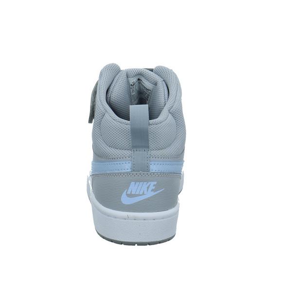 Nike Kinder Court Borough Mid 2 Graue Synthetik Sneaker
