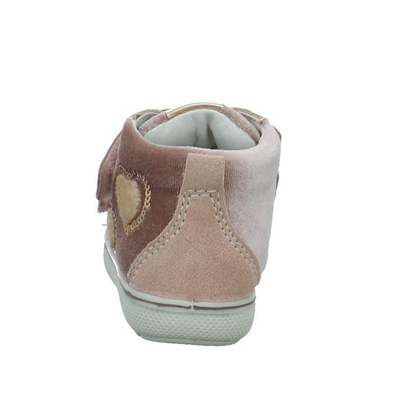 Primigi Kinder 2371722 Rosefarbener Leder/Textil Lauflernschuh