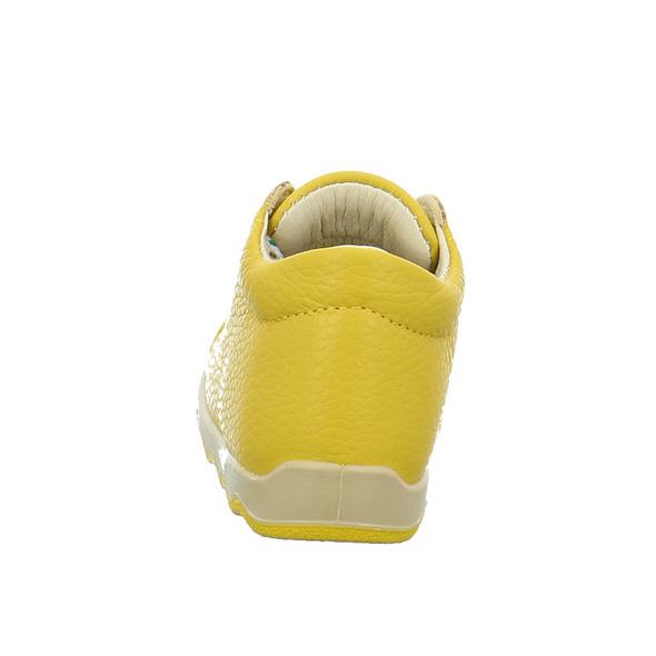 Primigi Kinder Thinky Gelbe Glattleder Schnürschuhe