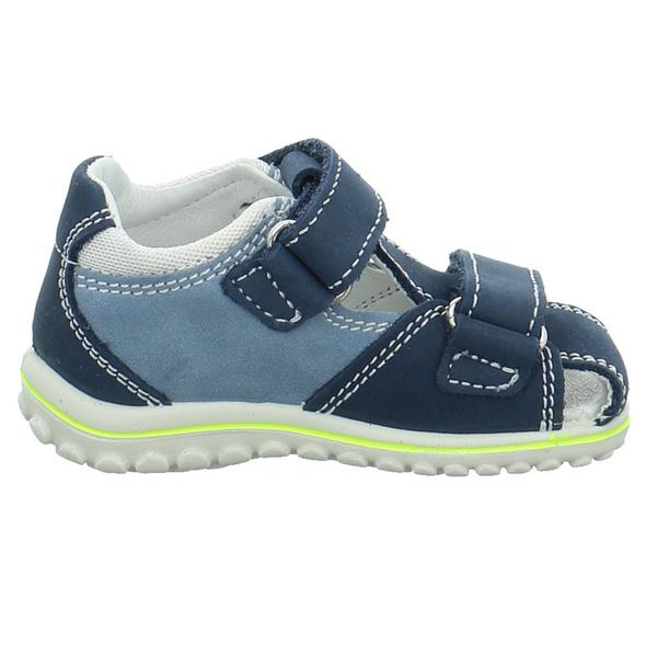 Primigi Kinder 5365722 Blauer Leder/Textil Lauflernschuh