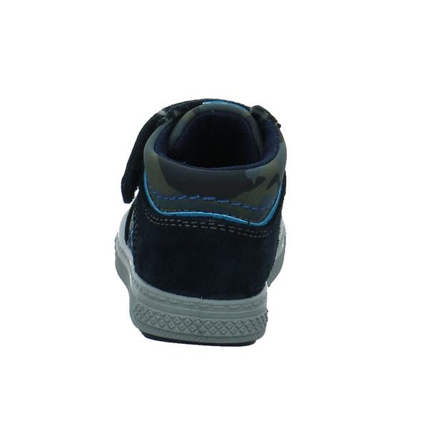 Primigi Kinder 2373111 Blauer Rauh-/veloursleder Lauflernschuh