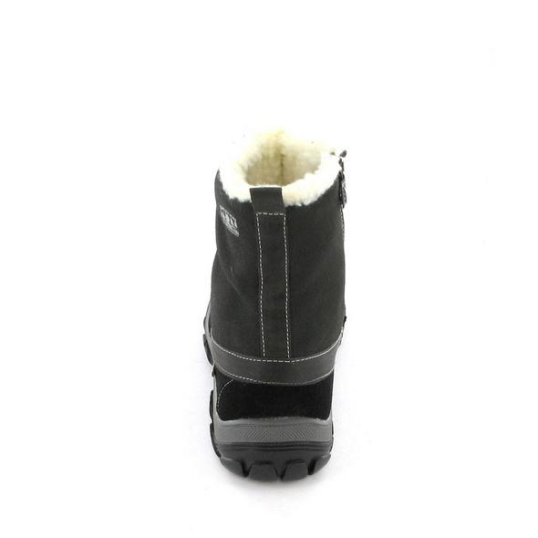 Lurchi Kinder Nicole Grauer Leder/Textil Winterstiefel