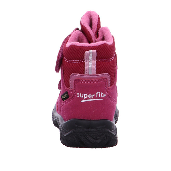 Superfit Kinder Husky 1 Rosa Mesh Schneeboot