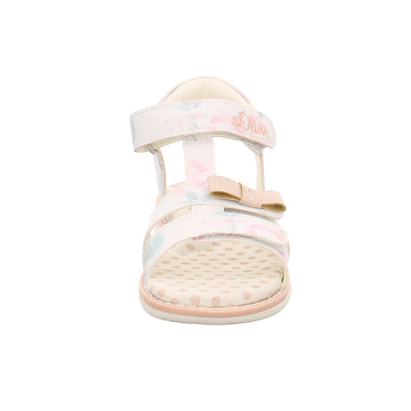 s.Oliver Kinder 38210/152 Weiße Synthetik Sandale