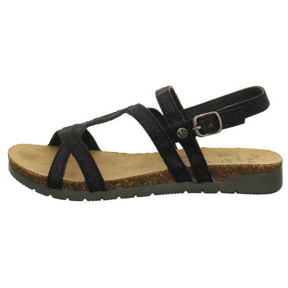 s.Oliver Kinder 48504/853 Blaue Synthetik Sandale