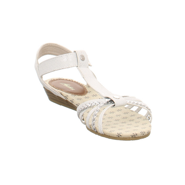 Mustang Kinder 5029812-21 Silberne Synthetik Sandale