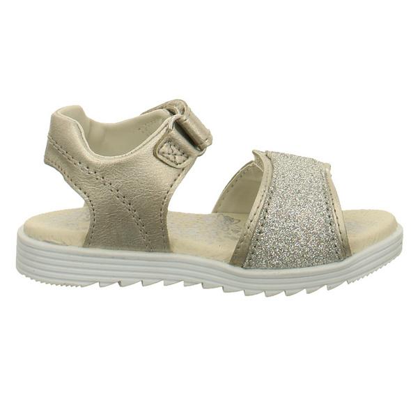 Lurchi Kinder Eva Silberne Synthetik Sandale