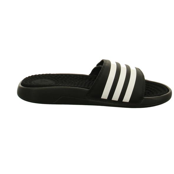 Adidas Herren Adissage TND Schwarze Synthetik Pantolette