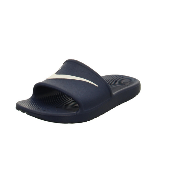 Nike Herren Kawa Shower Slide Blaue Synthetik Pantolette