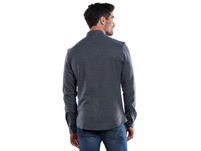 Langarm-Hemd gemustert