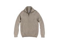 Stilvoller Pullover mit Polokragen