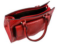 Tasche - Snake in Red