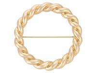 Brosche - Golden Twirl